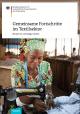 Titelbild Broschüre BMZ: Gemeinsame Fortschritte im Textilsektor – Das Bündnis für nachhaltige Textilien