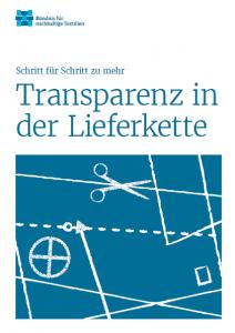 Cover Handreichung Lieferkettentransparenz